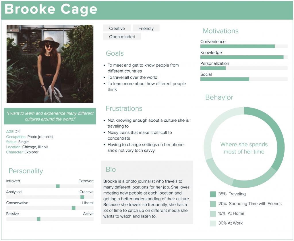 Brooke Cage persona